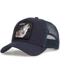 Goorin Bros Animal Farm Wolf Trucker Hat - Blue