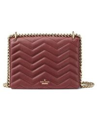 Kate Spade - Reese Park - Marci Quilted Leather Shoulder Bag - Lyst