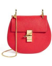 Chloé - Drew Leather Cross-Body Bag - Lyst