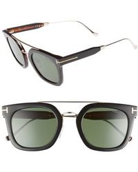 Tom Ford - Alex 51mm Sunglasses - Lyst
