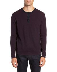 Zachary Prell - Kimball Henley Sweater - Lyst