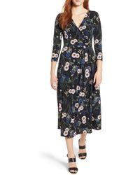 Chaus - Zinnia Garden Midi Dress - Lyst