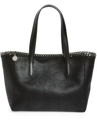 Stella McCartney - Small Falabella Shaggy Deer Faux Leather Tote - Lyst