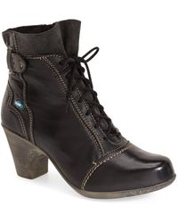 Cloud 'jesse' Lace-up Bootie (women) - Black