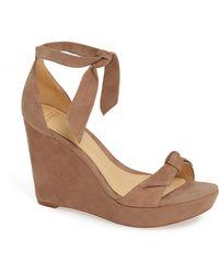 Alexandre Birman - Clarita Platform Wedge Sandal - Lyst