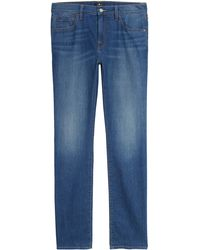 7 For All Mankind - 7 For All Mankind Slimmy Straight Leg Jeans - Lyst