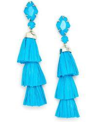 Kendra Scott - Denise 3-in-1 Tassel Earrings - Lyst