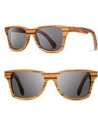 Shwood 'canby' 48mm Polarized Sunglasses - - Gray