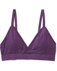 Richer Poorer Classic Bralette - Purple