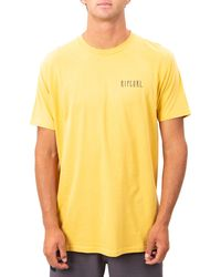 Rip Curl Layback Graphic Tee - Yellow