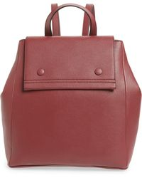 Danielle Nicole Nolan Faux Leather Backpack - Burgundy - Red