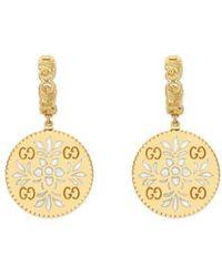 Gucci - Icon Blooms Drop Earrings - Lyst