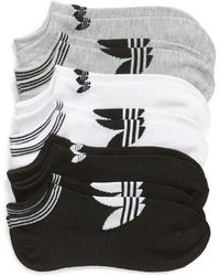 adidas - 6-pack No-show Socks - Lyst