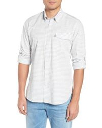 Barbour - Huchen Regular Fit Stripe Sport Shirt - Lyst