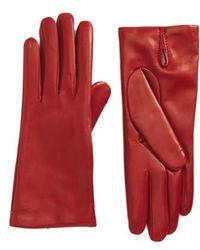 Max Mara | Ragusa Leather Gloves | Lyst