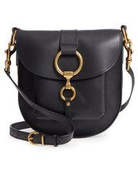Frye - Ilana Leather Saddle Bag - Lyst