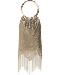 Whiting & Davis - Rio Mesh Bracelet Bag - Metallic - Lyst