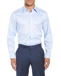 John W. Nordstrom - John W. Nordstrom Traditional Fit Solid Dress Shirt - Lyst