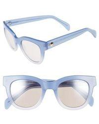 Draper James - 50mm Gradient Lens Cat Eye Sunglasses - - Lyst