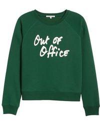 Rebecca Minkoff - Out Of Office Sweatshirt - Lyst
