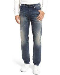 DIESEL   Diesel Buster Slim Straight Leg Jeans   Lyst