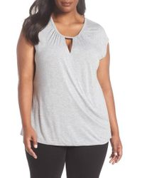 Sejour - Twisted Front Top - Lyst