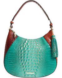 Brahmin - Amira Leather Shoulder Bag - Lyst