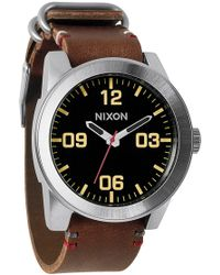Nixon - 'the Corporal' Watch - Lyst