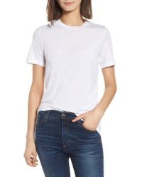 AG Jeans - Destroyed Crewneck Tee - Lyst