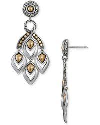John Hardy - Naga Mini Chandelier Earrings - Lyst