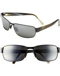 Maui Jim 'black Coral - Polarizedplus2' 65mm Sunglasses