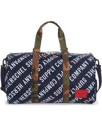 Herschel Supply Co. Classics Novel Logo Duffle Bag - Blue