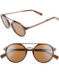 Ermenegildo Zegna - Retro 50mm Sunglasses - - Lyst
