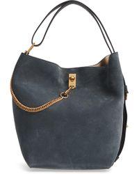 Givenchy - Medium Gv Lambskin Bucket Bag - - Lyst