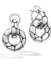 John Hardy - 'kali' Small Door Knocker Earrings - Lyst