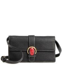 Frances Valentine - Calfskin Leather Crossbody Wallet - Lyst
