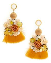 Lizzie Fortunato - French Marigold Drop Earrings - Lyst
