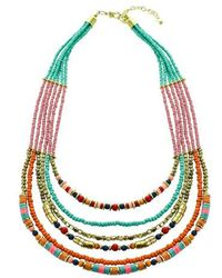 Panacea - Multistrand Seed Bead Necklace - Lyst