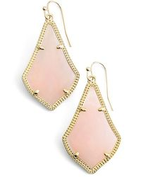 Kendra Scott 'alex' Drop Earrings - Pink