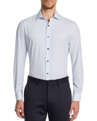 W.r.k. - Slim Fit Performance Stretch Print Dress Shirt - Lyst