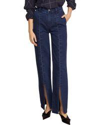 Habitual - Suri High Waist Slit Front Jeans - Lyst