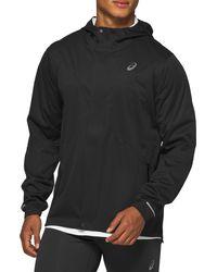 Asics Asics Accelerate Waterproof Hooded Jacket - Black