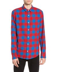 The Rail Flannel Shirt - Red