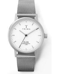 Triwa - Pearl Elva Mesh Strap Watch - Lyst