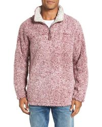 True Grit - Frosty Tipped Quarter Zip Pullover - Lyst