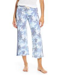 Sol Angeles Aqua Mirage Culottes - Blue
