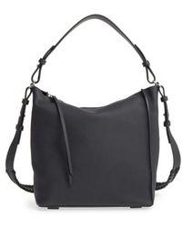AllSaints - 'kita' Leather Shoulder/crossbody Bag - Lyst
