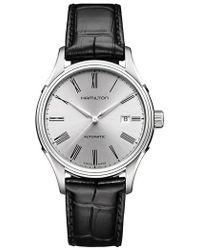 Hamilton - Jazzmaster Gent Open Heart Automatic Bracelet Watch - Lyst