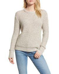 Ella Moss | Melange Open Back Sweater | Lyst