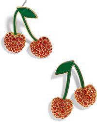BaubleBar - Cherry Earrings - Lyst